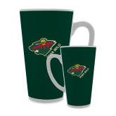 Full Color Latte Mug 17oz-Iowa Wild w Bear Head