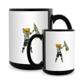Full Color Black Mug 15oz-Mascot Photo