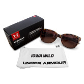 Ladies Under Armour Perfect Tortoise Sunglasses-