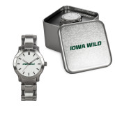 Ladies Stainless Steel Fashion Watch-Iowa Wild Flat