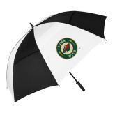 62 Inch Black/White Vented Umbrella-Secondary Mark