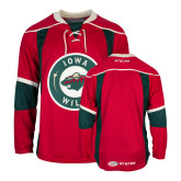 Red Hockey Jersey-