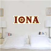 2 ft x 6 ft Fan WallSkinz-Iona Wordmark
