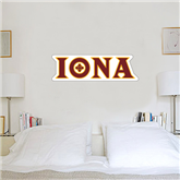 1.5 ft x 4 ft Fan WallSkinz-Iona Wordmark
