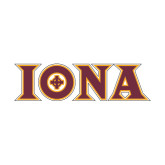 Medium Decal-Iona Wordmark, 8 inches wide