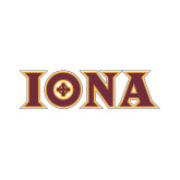 Small Decal-Iona Wordmark, 6 inches wide