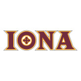 Extra Large Decal-Iona Wordmark, 18 inches wide