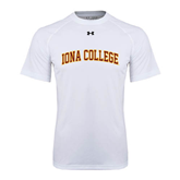 Under Armour White Tech Tee-Athletics