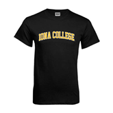 Black T Shirt-Arched Iona College