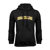 Black Fleece Hoodie-Arched Iona College