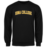 Black Fleece Crew-Arched Iona College