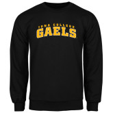 Black Fleece Crew-Arched Iona College Gaels