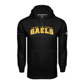Under Armour Black Performance Sweats Team Hoodie-Arched Iona College Gaels