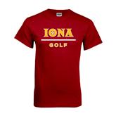 Cardinal T Shirt-Golf