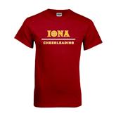 Cardinal T Shirt-Cheerleading