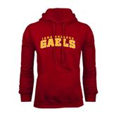 Cardinal Fleece Hood-Arched Iona College Gaels