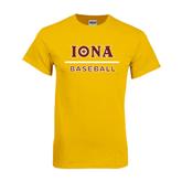 Gold T Shirt-Baseball