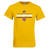 Gold T Shirt-MAAC Mens Basketball Champs
