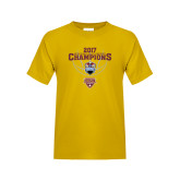 Youth Gold T Shirt-MAAC Mens Basketball Champs