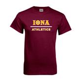 Maroon T Shirt-Athletics