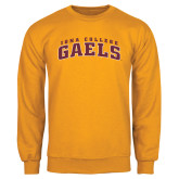 Gold Fleece Crew-Arched Iona College Gaels