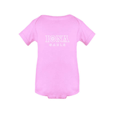 Light Pink Infant Onesie-Official Logo