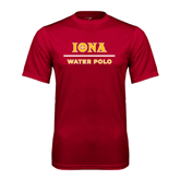 Syntrel Performance Cardinal Tee-Water Polo
