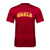 College  Syntrel Performance Cardinal Tee-Arched Iona College Gaels