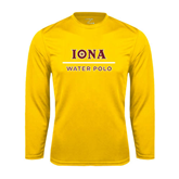 Syntrel Performance Gold Longsleeve Shirt-Water Polo