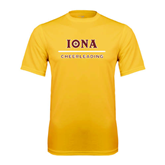 Performance Gold Tee-Cheerleading