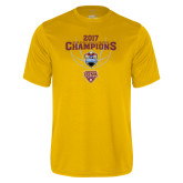 Syntrel Performance Gold Tee-MAAC Mens Basketball Champs