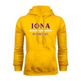 Gold Fleece Hoodie-Rowing