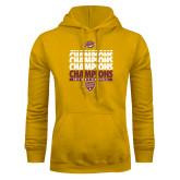 Gold Fleece Hood-MAAC Mens Basketball Champs