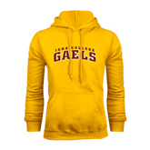 Gold Fleece Hoodie-Arched Iona College Gaels