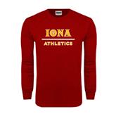 Cardinal Long Sleeve T Shirt-Athletics