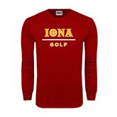 Cardinal Long Sleeve T Shirt-Golf