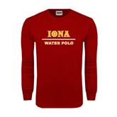 Cardinal Long Sleeve T Shirt-Water Polo