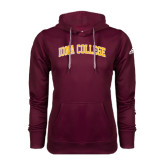 Adidas Climawarm Maroon Team Issue Hoodie-Arched Iona College