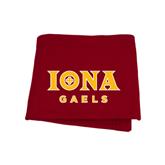 Cardinal Sweatshirt Blanket-Official Logo