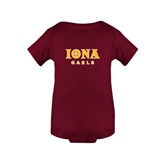 Maroon Infant Onesie-Official Logo