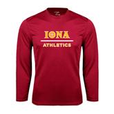 Syntrel Performance Cardinal Longsleeve Shirt-Athletics