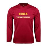 Syntrel Performance Cardinal Longsleeve Shirt-Cross Country