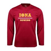 Syntrel Performance Cardinal Longsleeve Shirt-Rowing