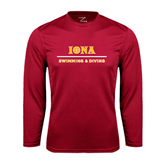 Syntrel Performance Cardinal Longsleeve Shirt-Swimming and Diving