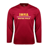 Syntrel Performance Cardinal Longsleeve Shirt-Water Polo