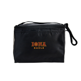 Koozie Six Pack Black Cooler-Official Logo