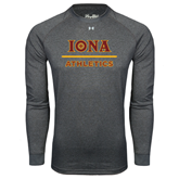 Under Armour Carbon Heather Long Sleeve Tech Tee-Athletics