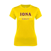 Ladies Syntrel Performance Gold Tee-Golf