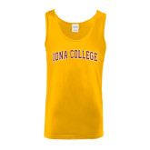 Gold Tank Top-Arched Iona College