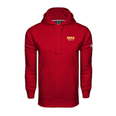 Under Armour Cardinal Performance Sweats Team Hoodie-Official Logo